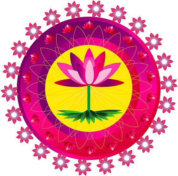 En Forme de Lotus