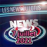 Les news du Lotus de juillet 2021