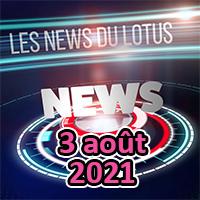 Les news du Lotus d'août 2021